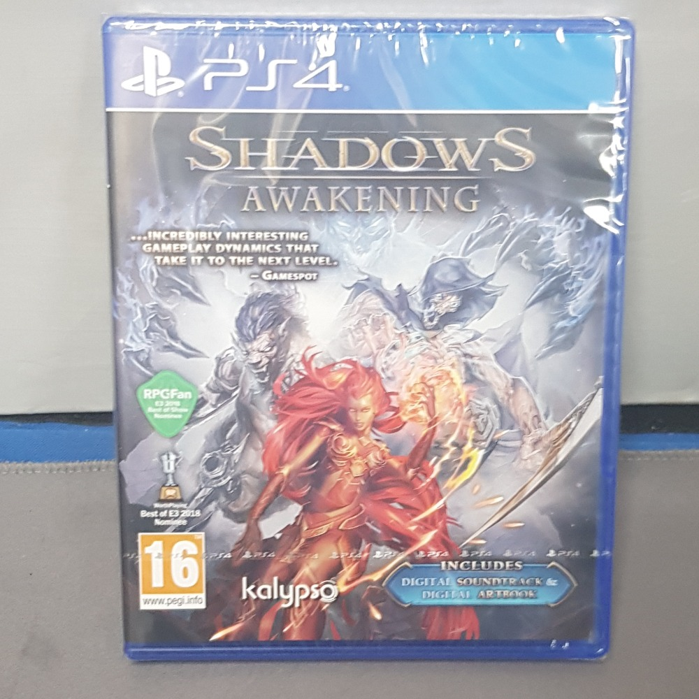 Product photo for Shadows Awakening Ps4 Game