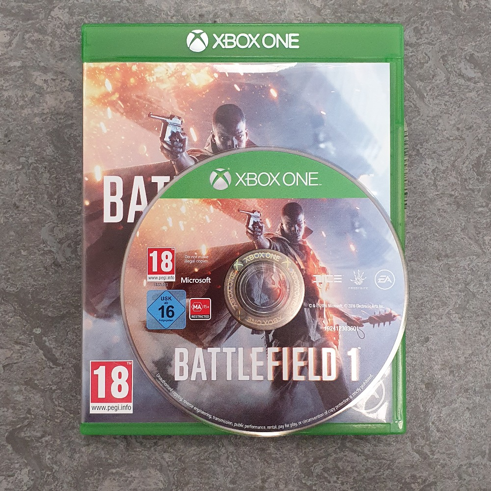 Product photo for Battlefield 1 (Xbox One)