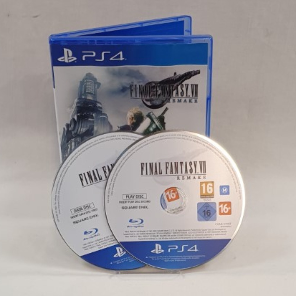 Product photo for Final Fantasy VII Remake (2 Discs) - PS4