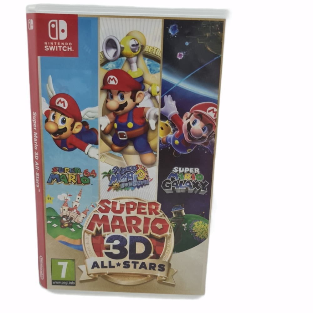 Product photo for Nintendo Switch Super Mario 3D All Stars