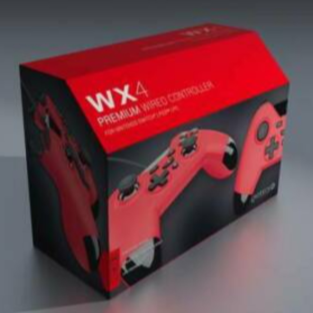 Product photo for Giotech WX-4 Switch controller Red