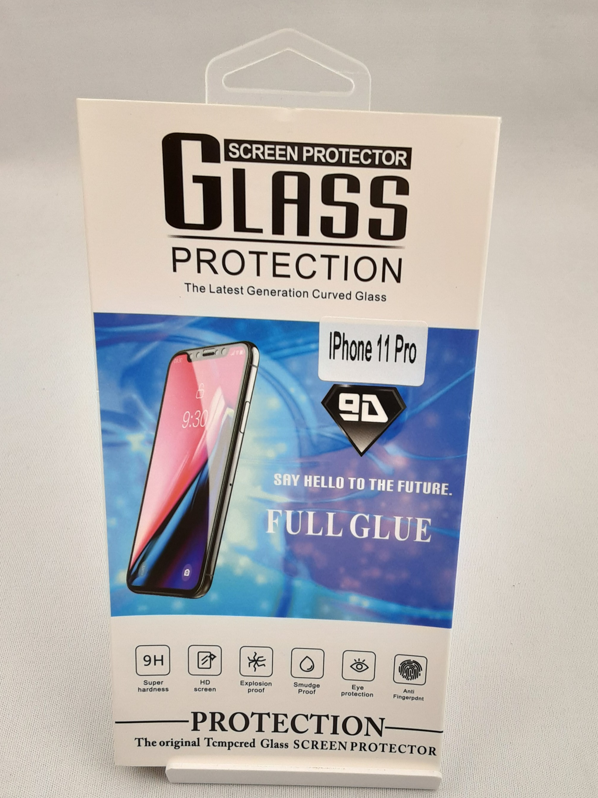 Product photo for Glass Protection iPhone 11 Pro Screen Protector