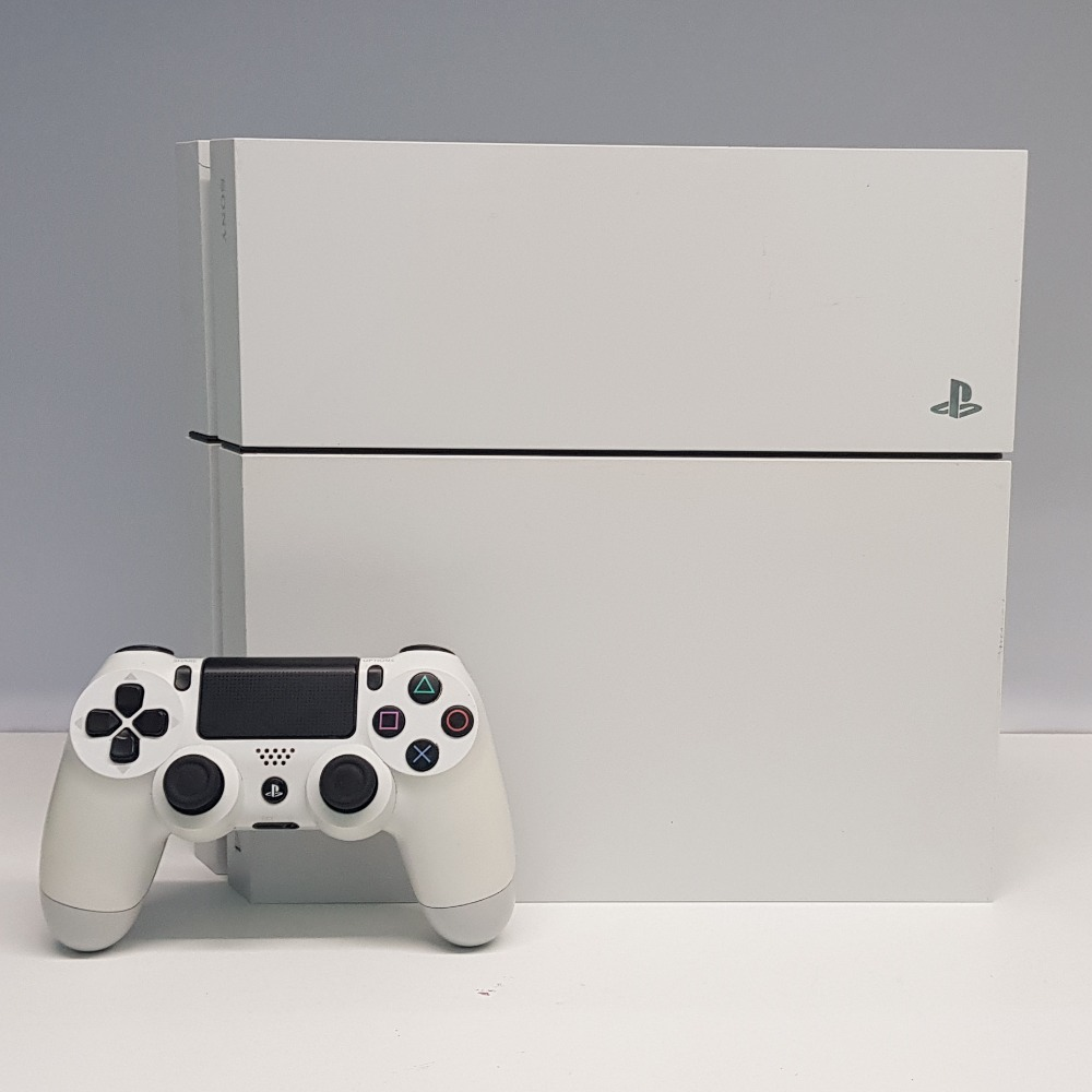 Product photo for Sony Sony PlayStation 4 500GB - Glacier White