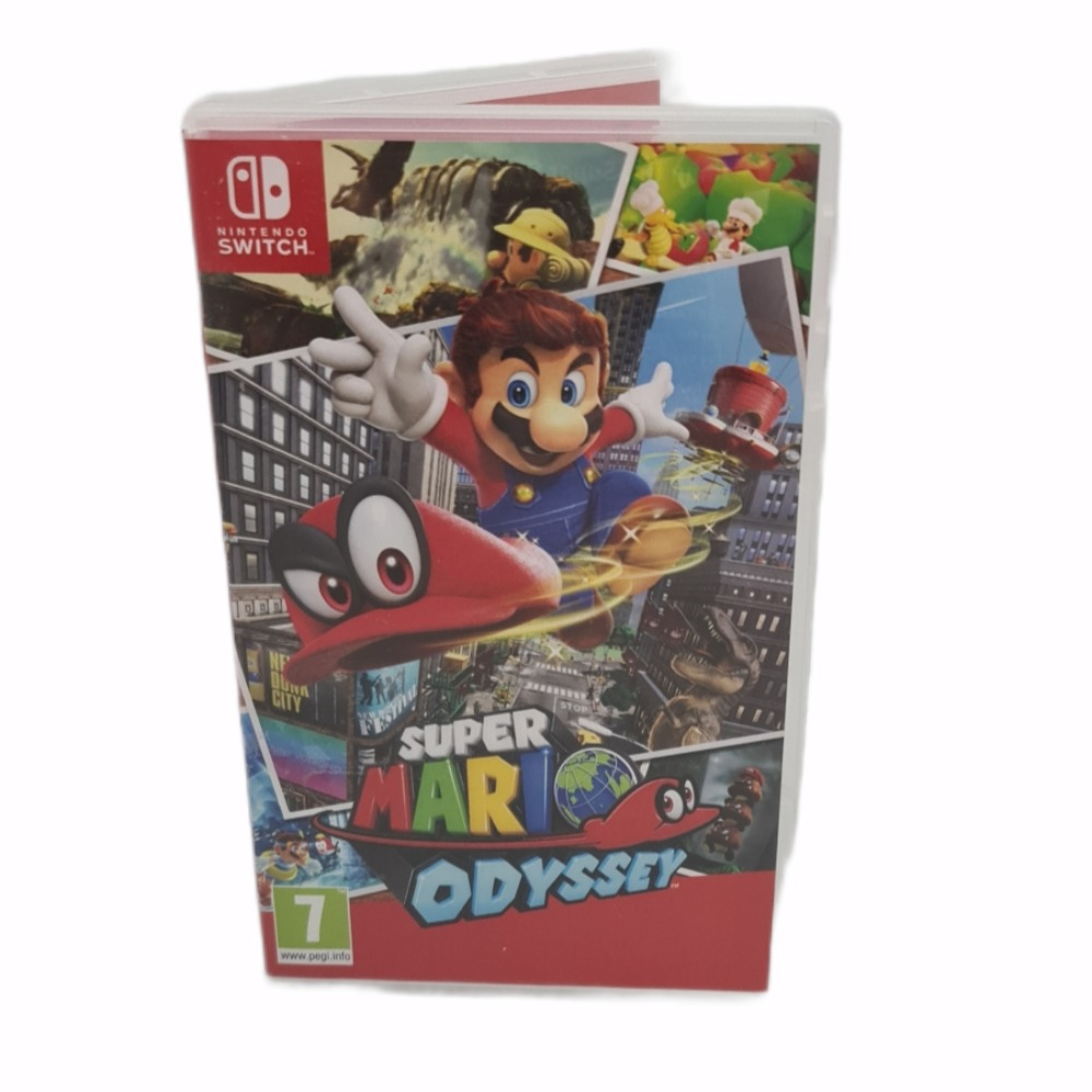 Product photo for Nintedo Switch game Super Mario Odyssey