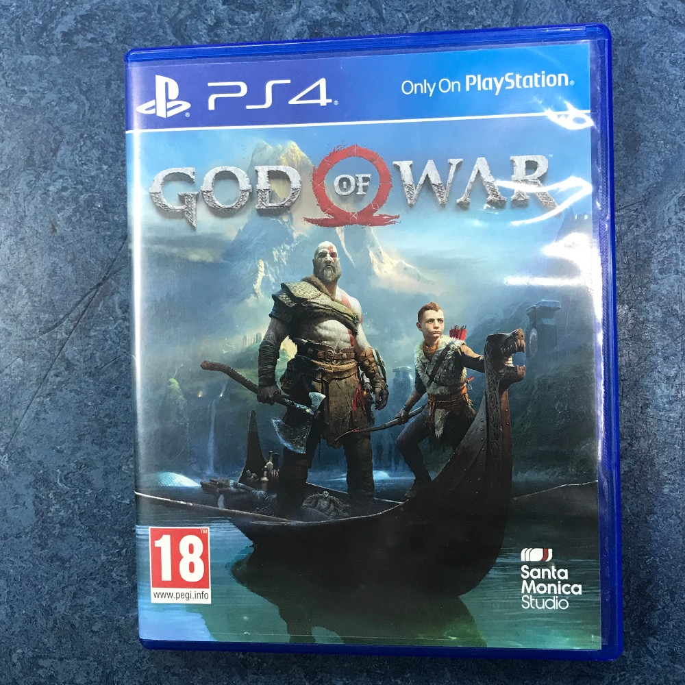 Product photo for Sony  god of war ps4