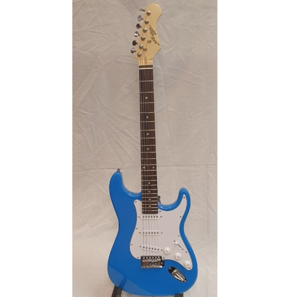 Product photo for Electric Guitar Blue - Johnny Brook