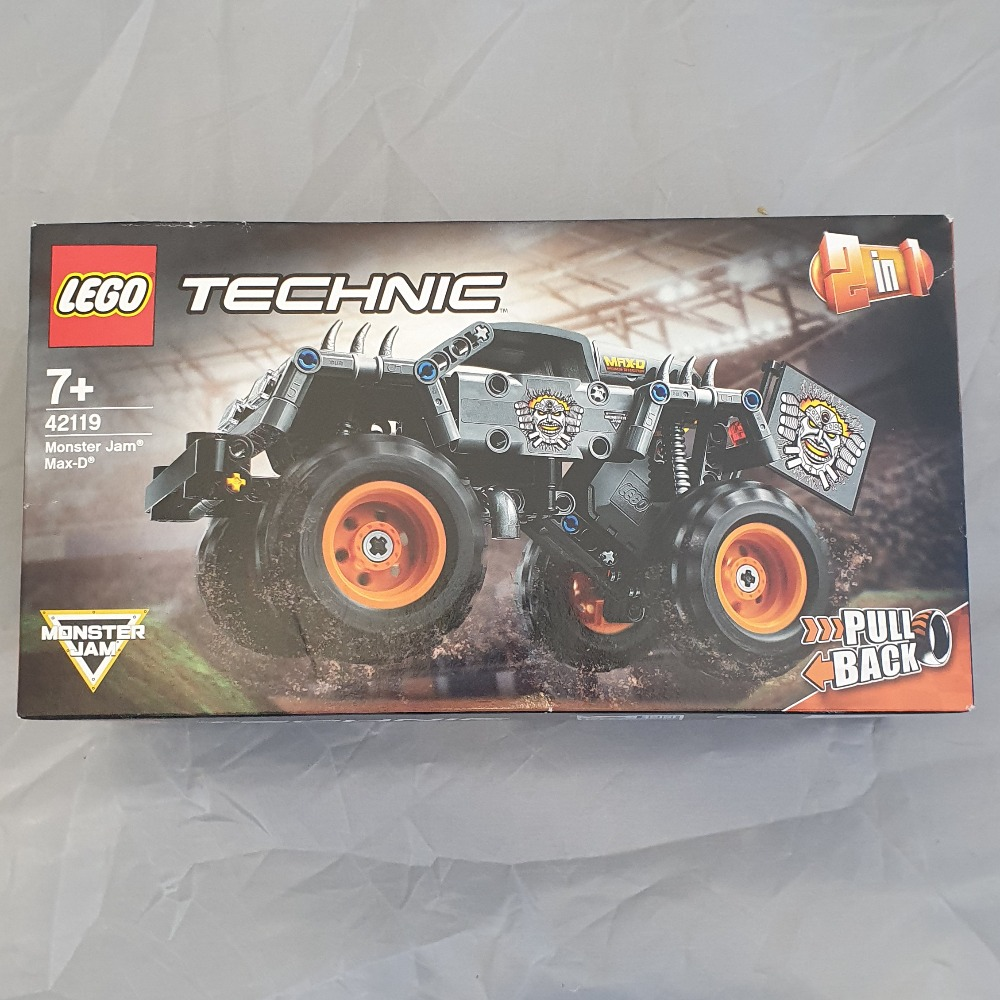 Product photo for LEGO Lego Technic Monster Jam Max-D 42119