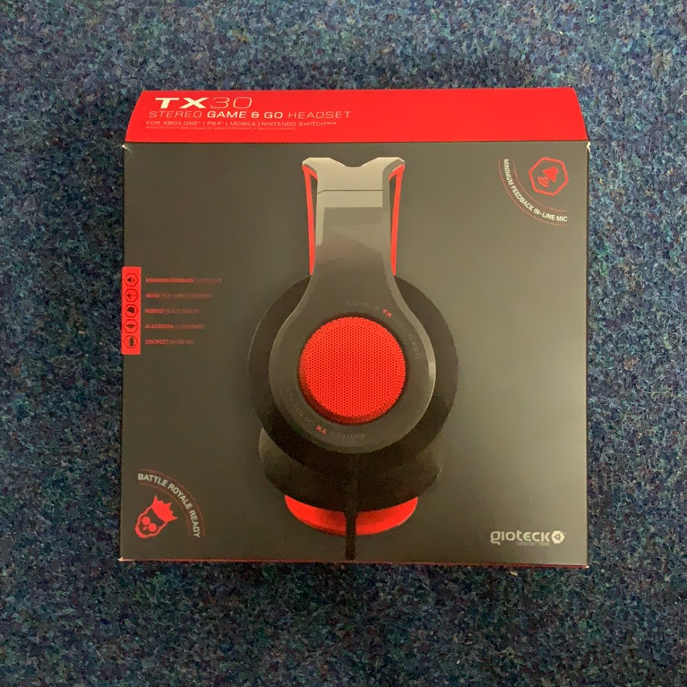Product photo for Gioteck Gioteck TX-30 Headset