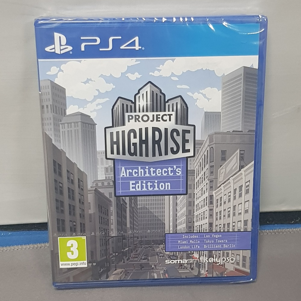 Product photo for Project Highrise Ps4 Game