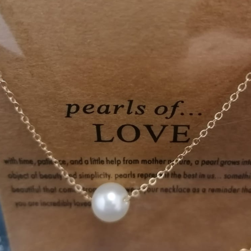 Product photo for Pearls of love chain