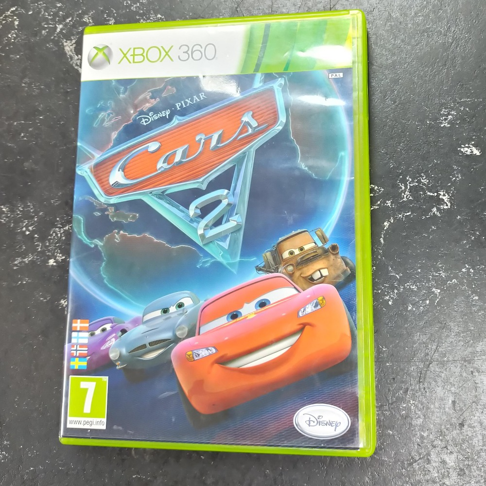 Product photo for xbox 360 game Cars 2