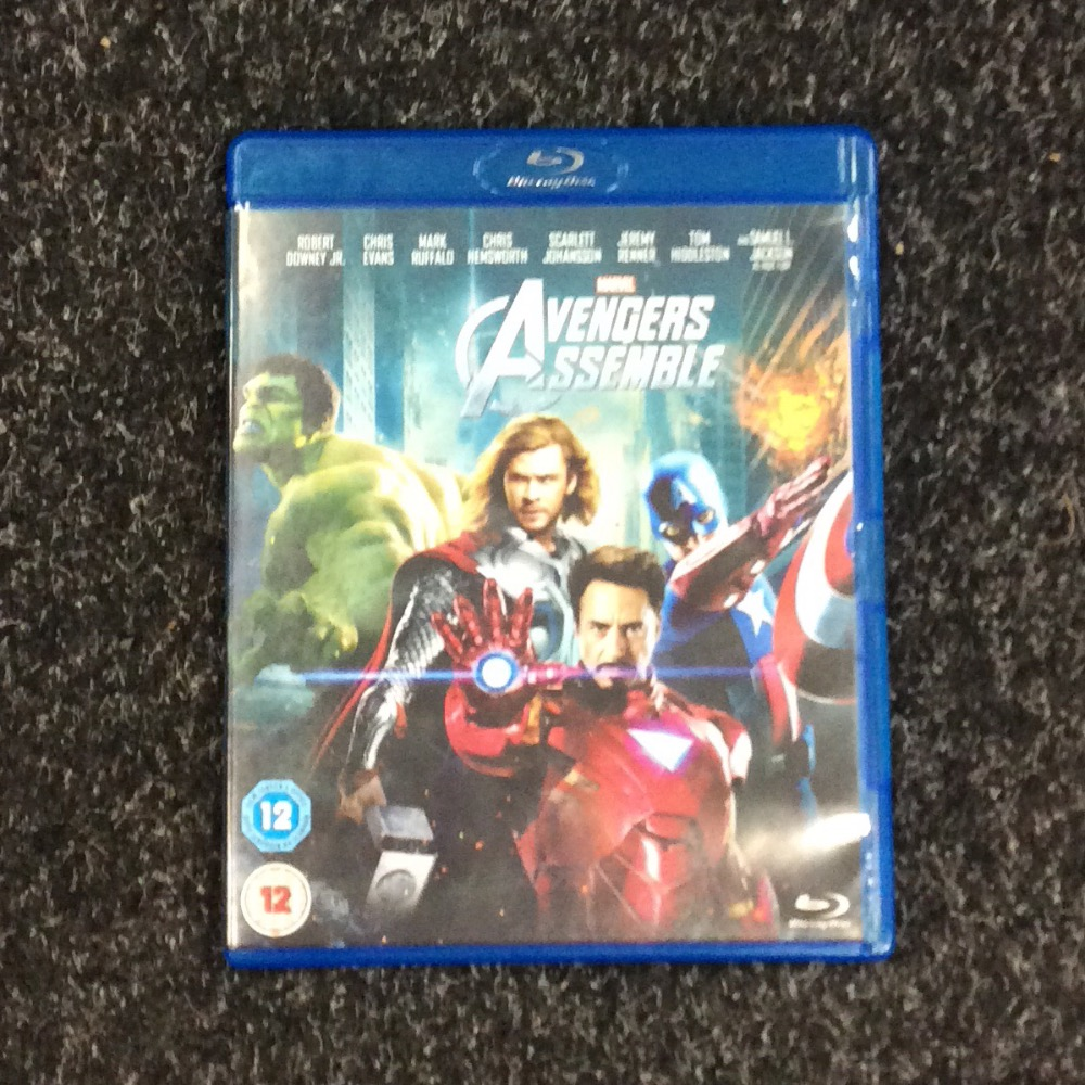 Product photo for Blu-ray Avengers Assemble