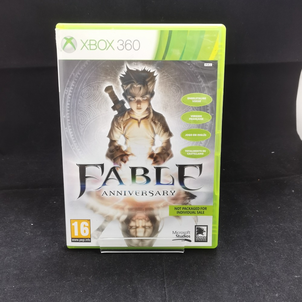 Product photo for xbox 360 game  Fable anniversary