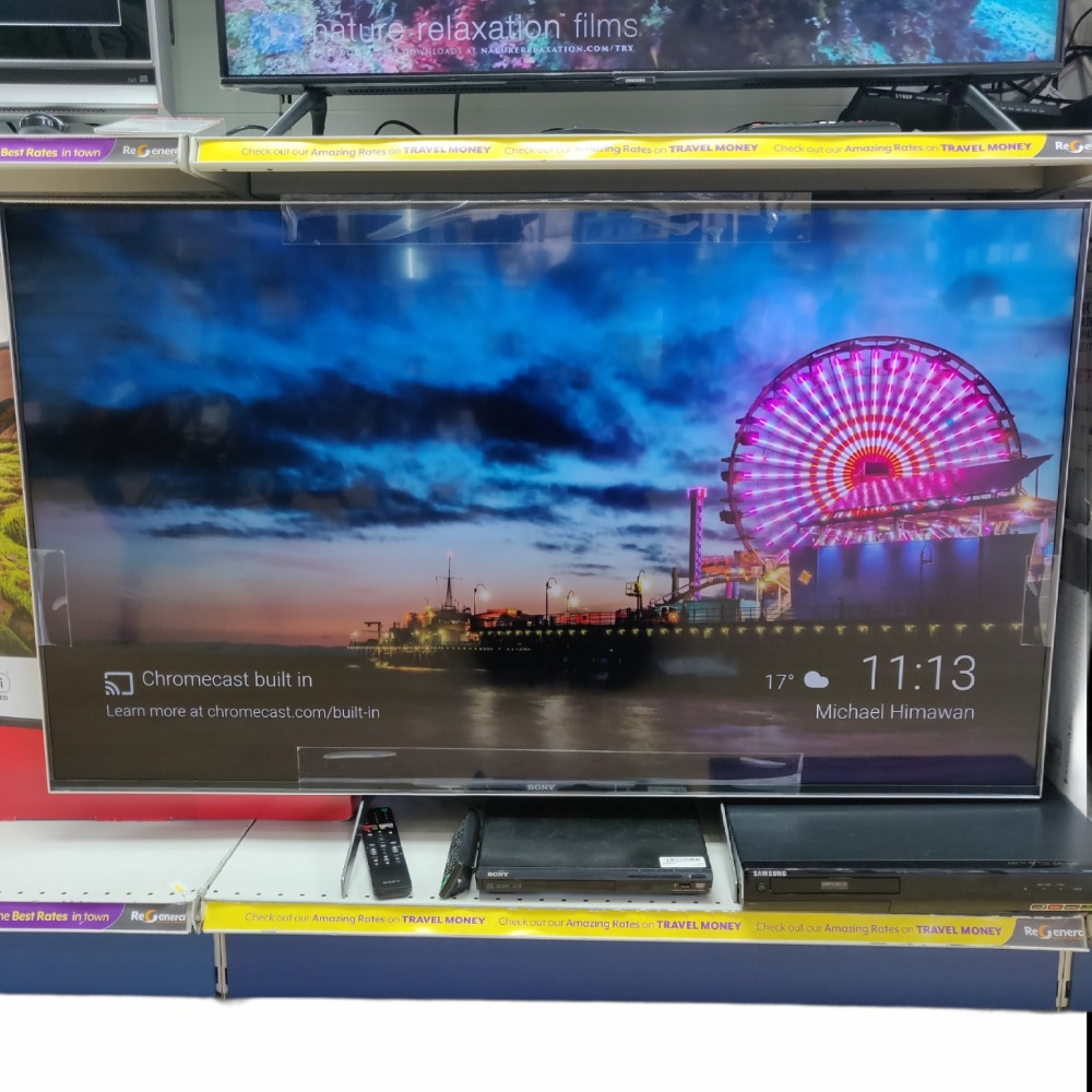 Product photo for Sony 55'' 4K Smart TV