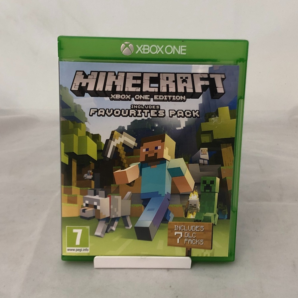 Product photo for Minecraft (Xbox)