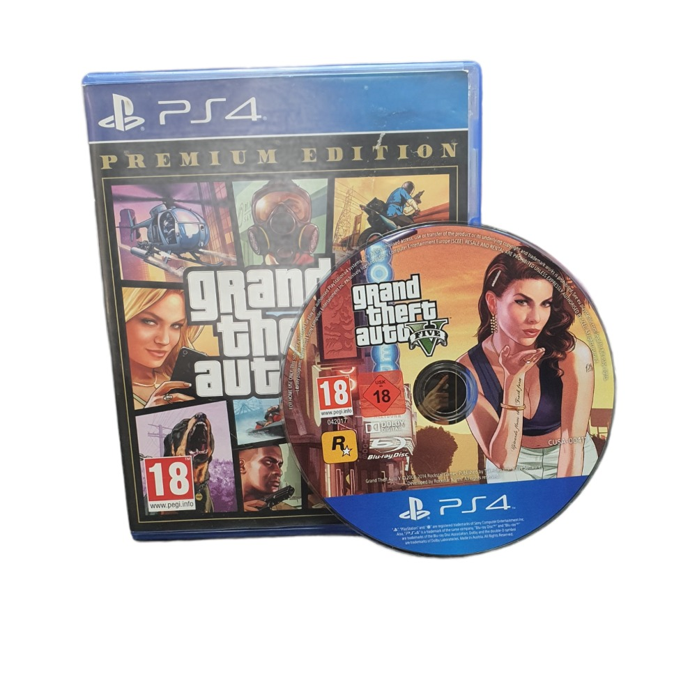 Product photo for Grand Theft Auto V: Premium Edition - Play Station Game