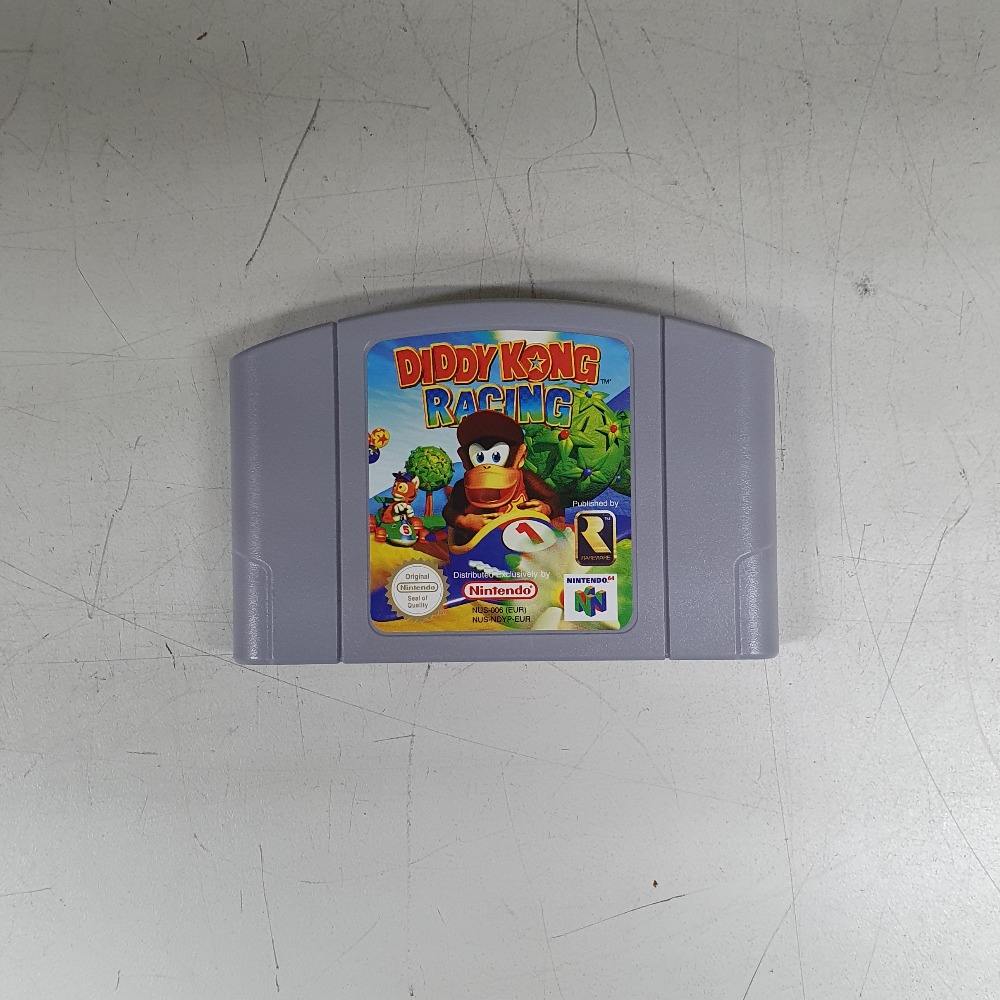 Product photo for Diddy Kong Racing - Nintendo 64