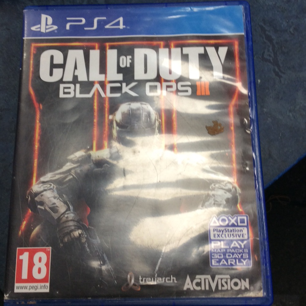 Product photo for PS4 Game Call of duty black ops 111