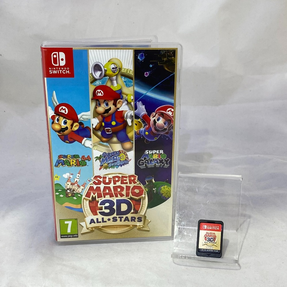 Product photo for Super Mario 3D All-Stars Nintendo Switch Game