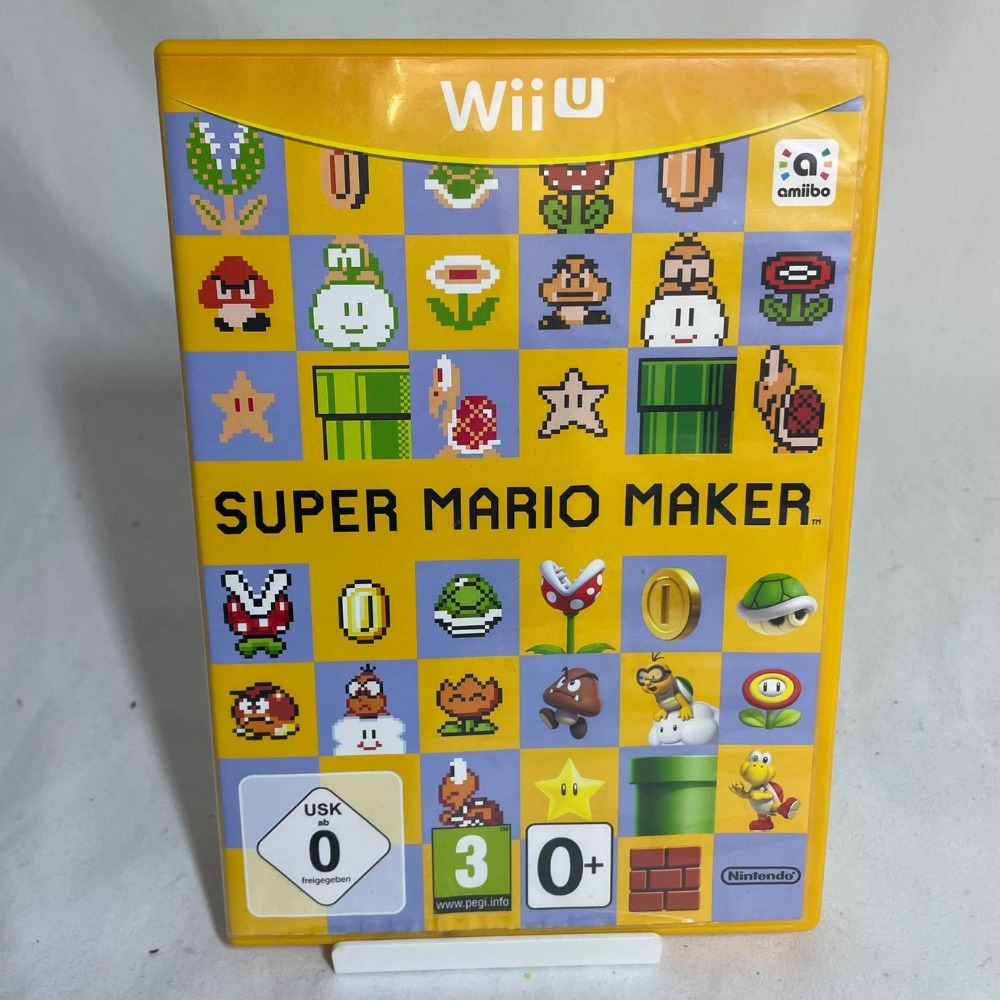 Product photo for Super Mario Maker - Wii U Game