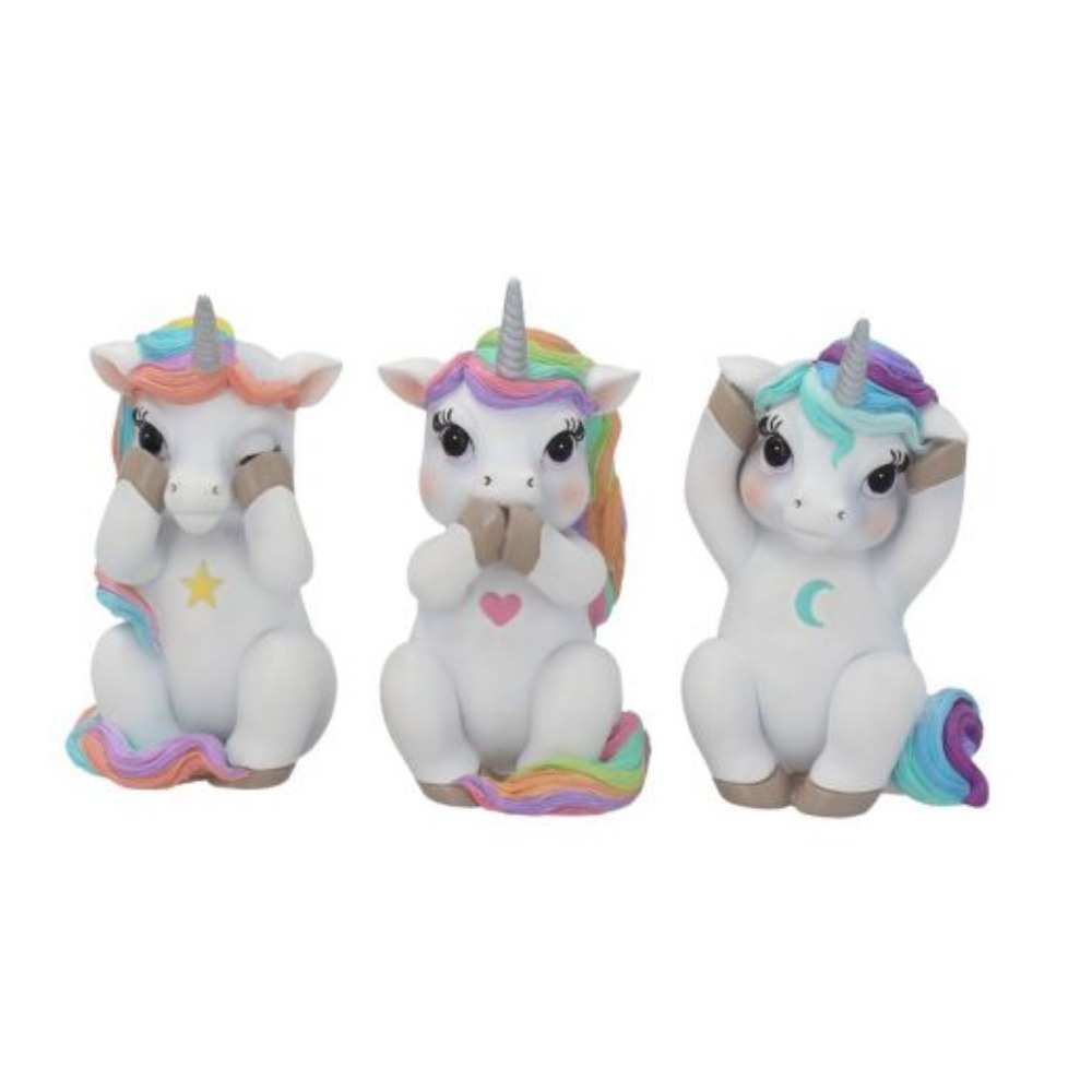 Product photo for 3 Wise Cutiecorns 9.5 cm
