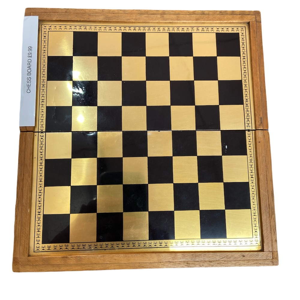 Product photo for Gold Chest Board