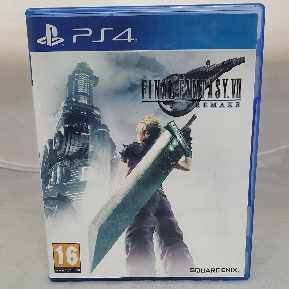 Product photo for Final Fantasy VII Remake (2 Discs) PS4