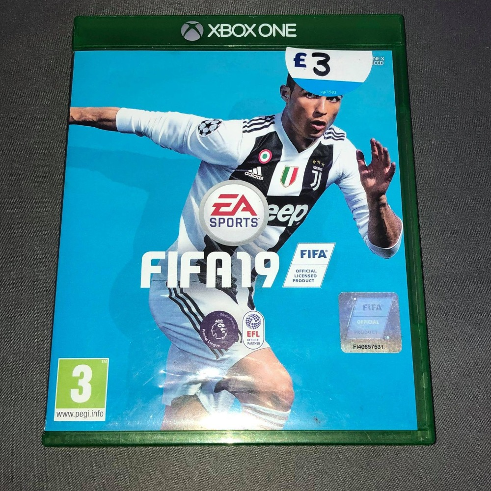 Product photo for Xbox One  Fifa 19 - Xbox One