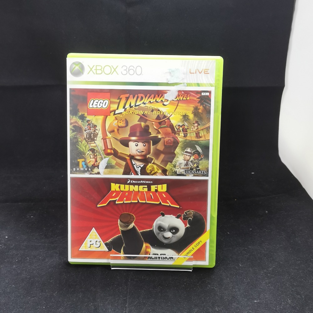 Product photo for xbox 360 game Lego Indiana Jones and Kung Fu Panda