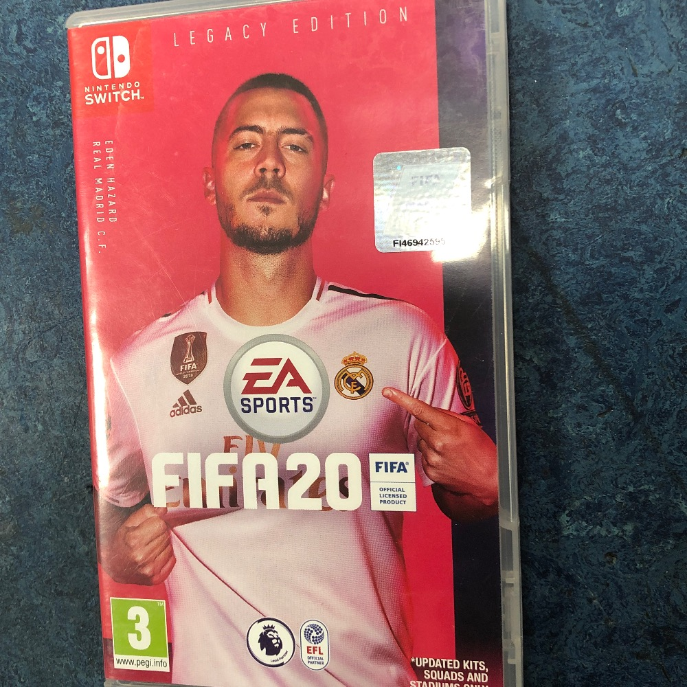 Product photo for Nintendo Switch  fifa 20