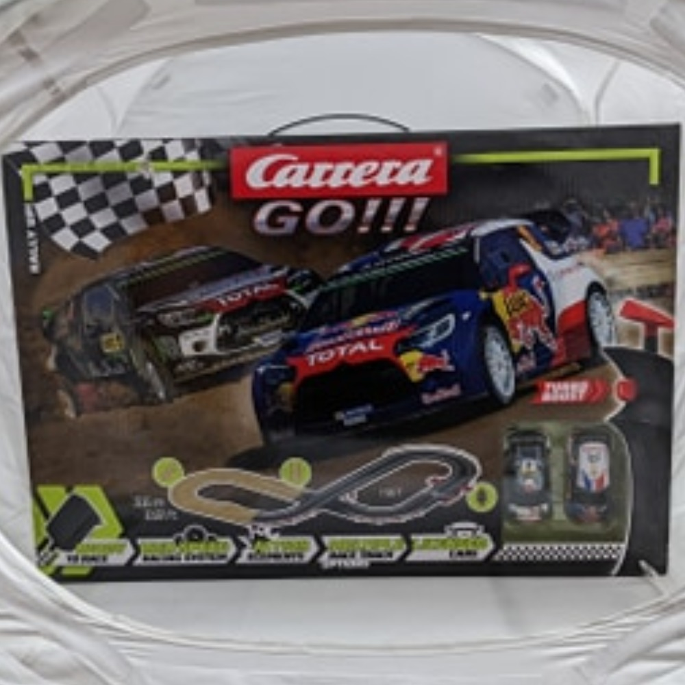 Product photo for Carrera  Rally Up Electric Track Set