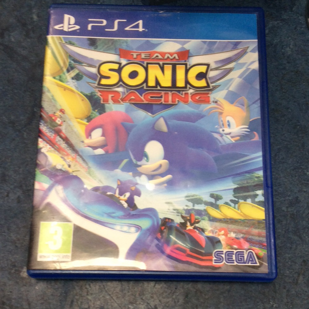 Product photo for PS4 Game Team sonic racing