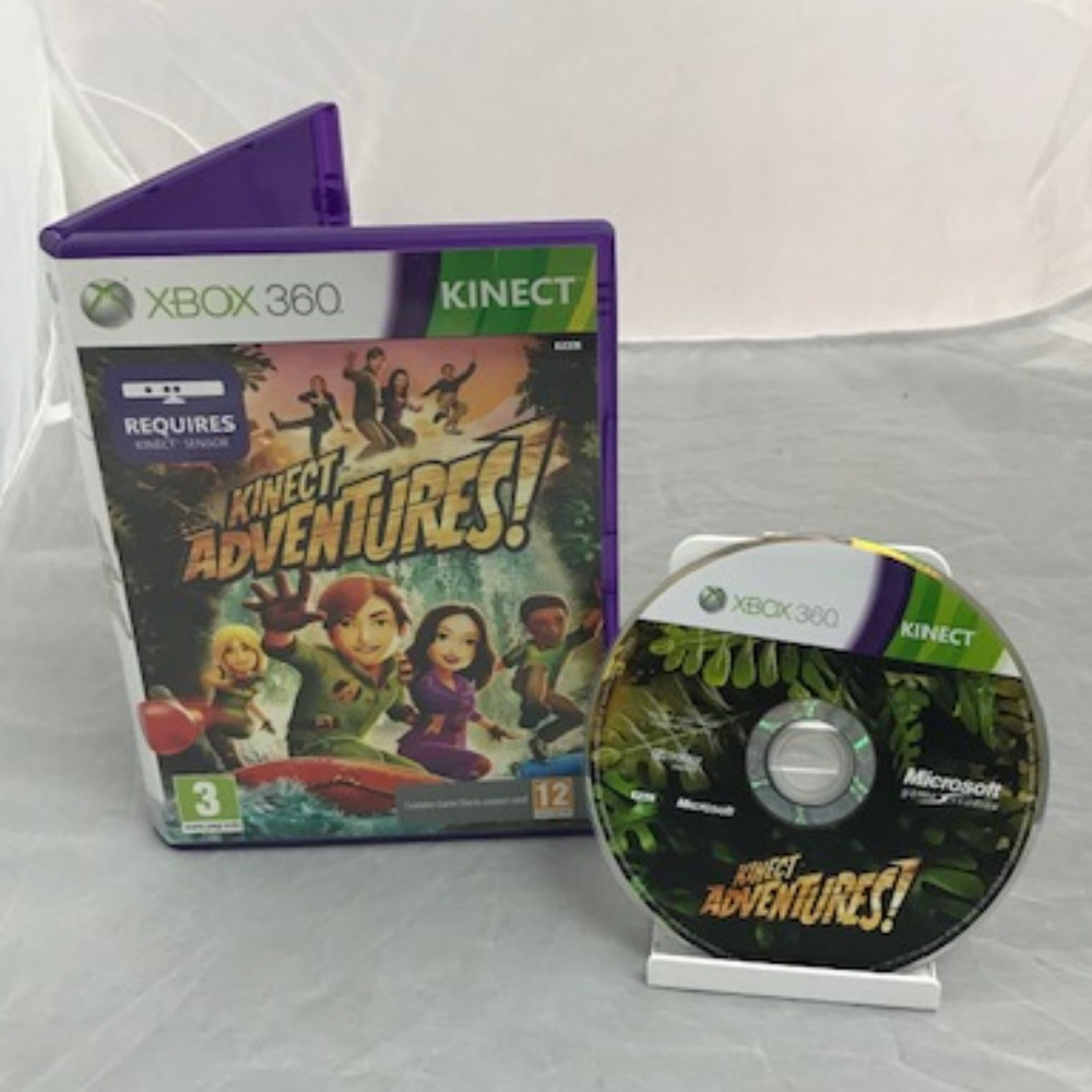 Product photo for Xbox 360 Game Kinect Adventures!