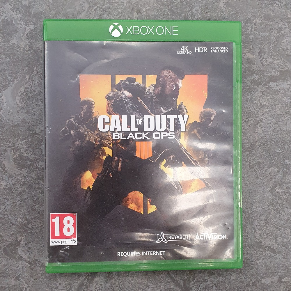 Product photo for Call of Duty Black Ops 4 (Xbox One)
