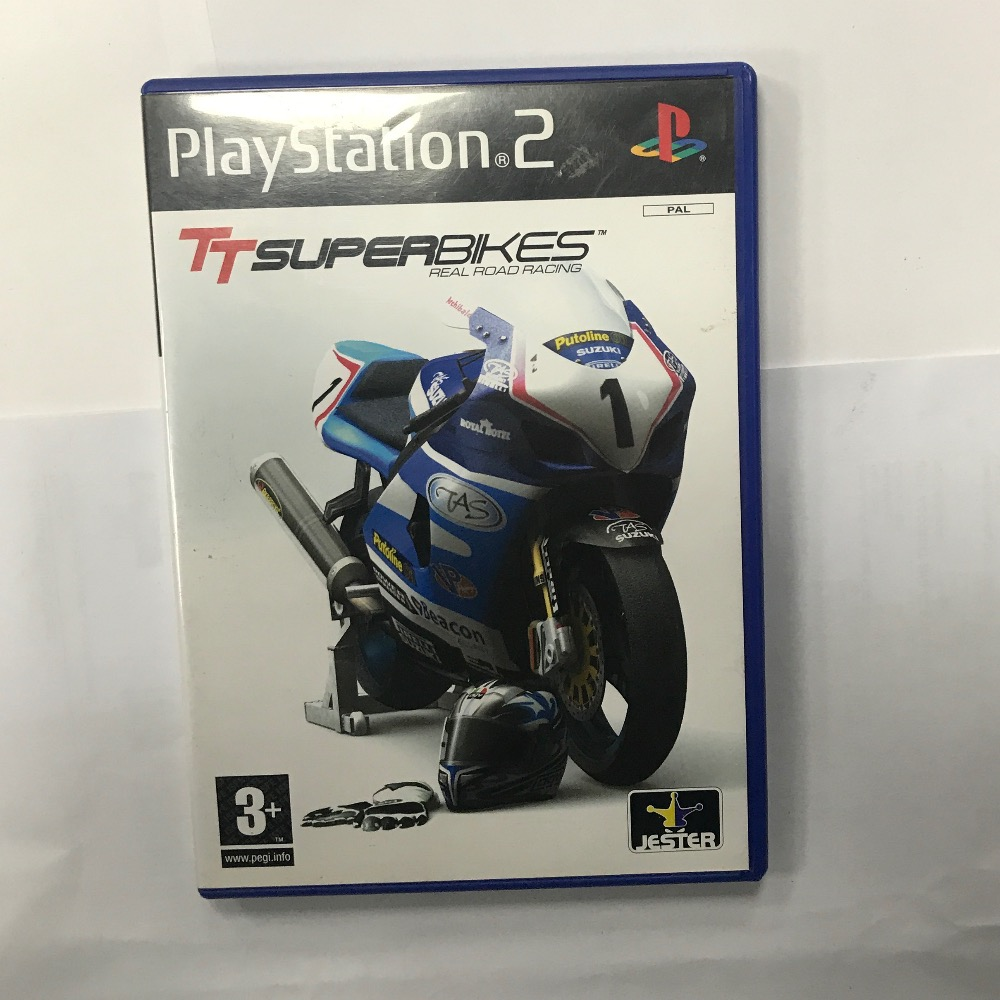 Product photo for Sony PS2 Game tt super PlayStation 2