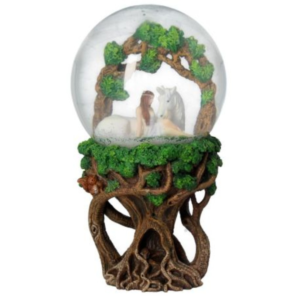 Product photo for Pure Heart Snowglobe 18cm