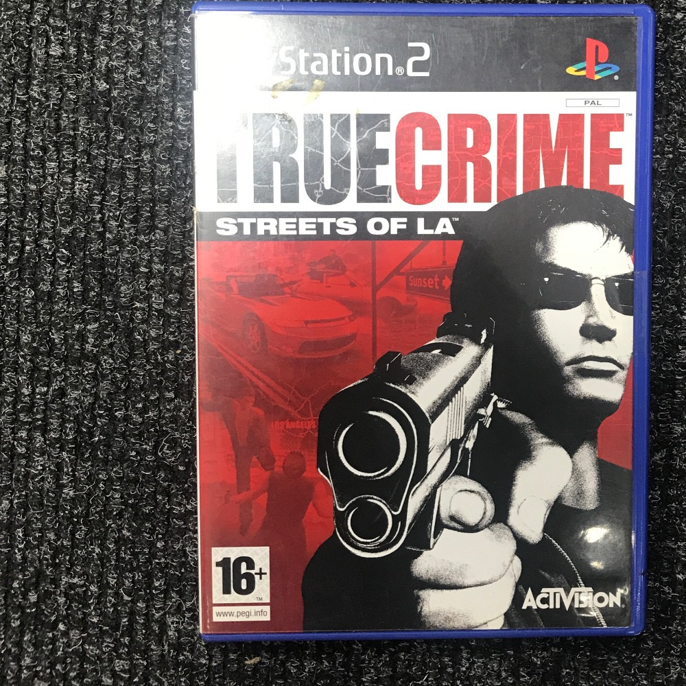 Product photo for Sony PS2 Game true crime PlayStation 2