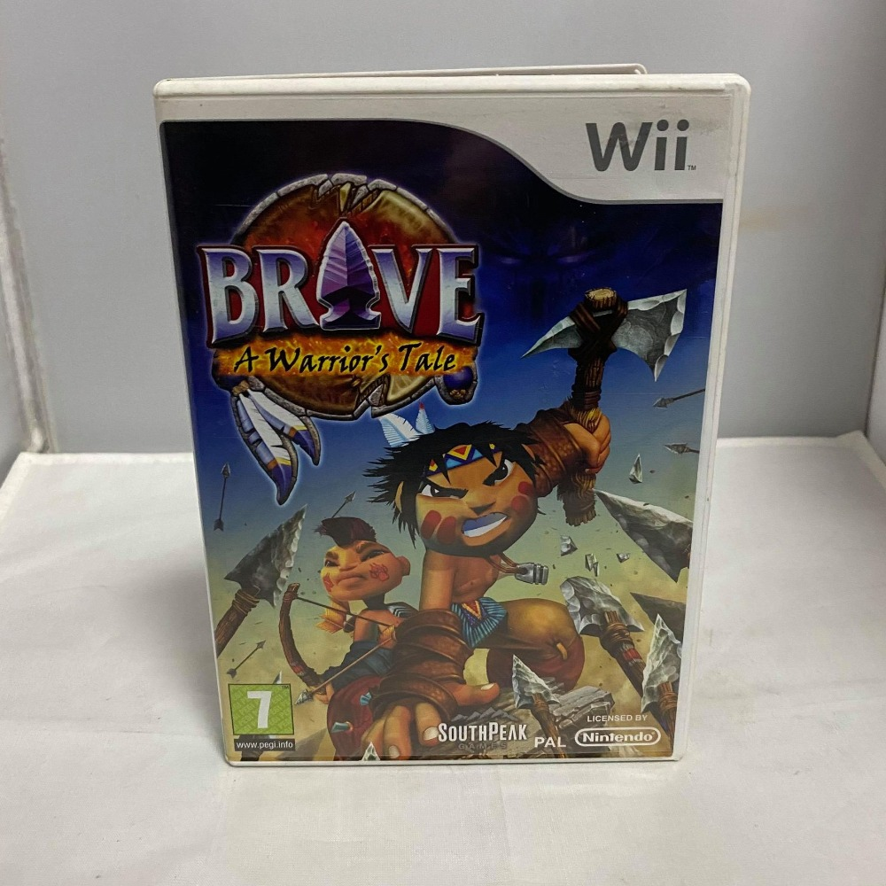 Product photo for Nintendo Wii Brave: A Warrior's Tale