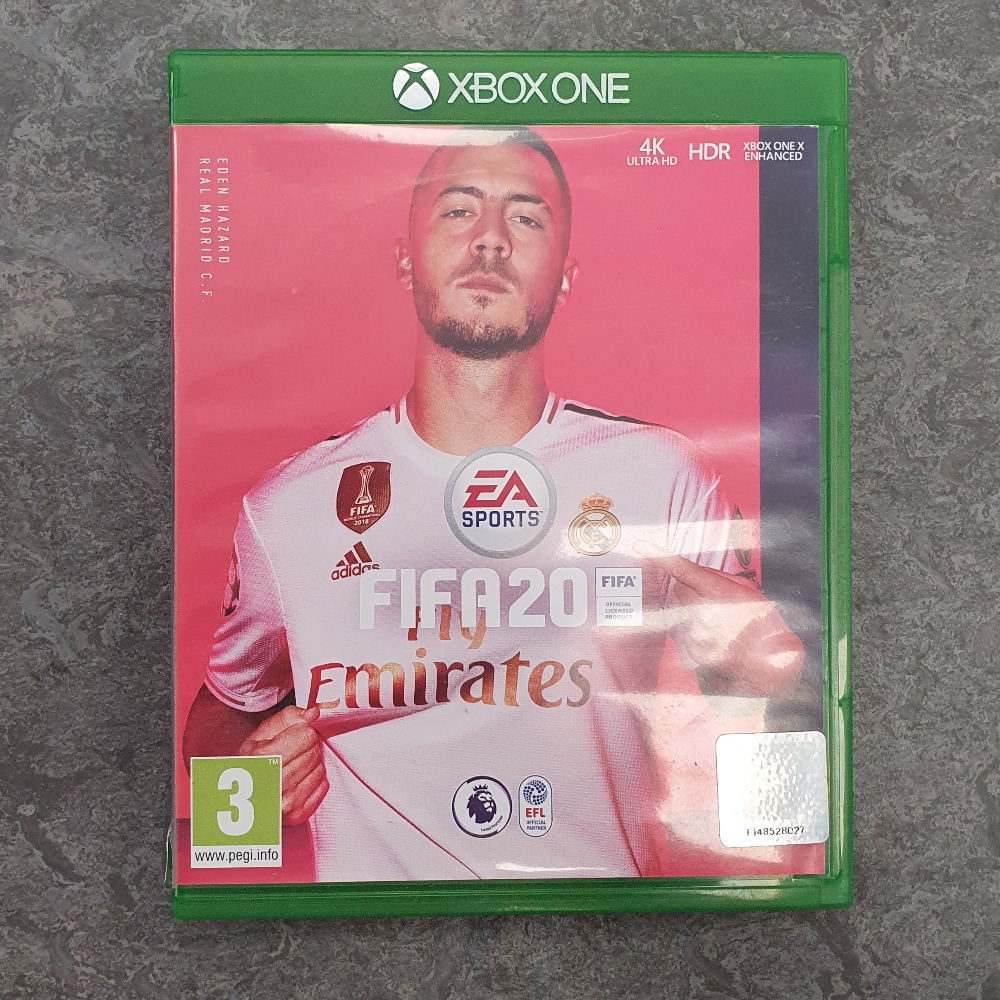 Product photo for FIFA 20 (Xbox One)