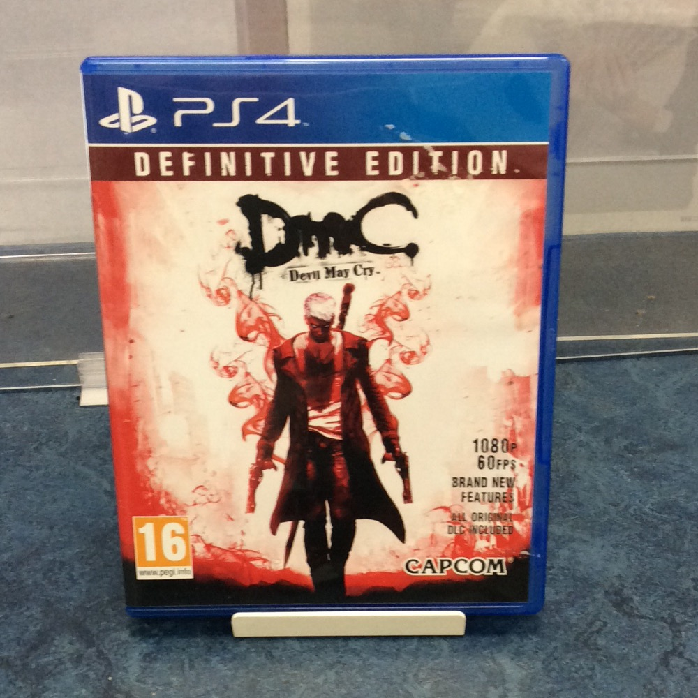 Product photo for Ps4 Devil may cry