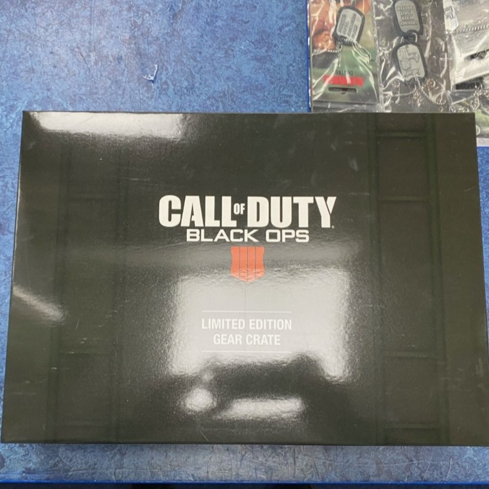 Product photo for Call of Duty Black Ops 4 Limited Edition Gear Crate