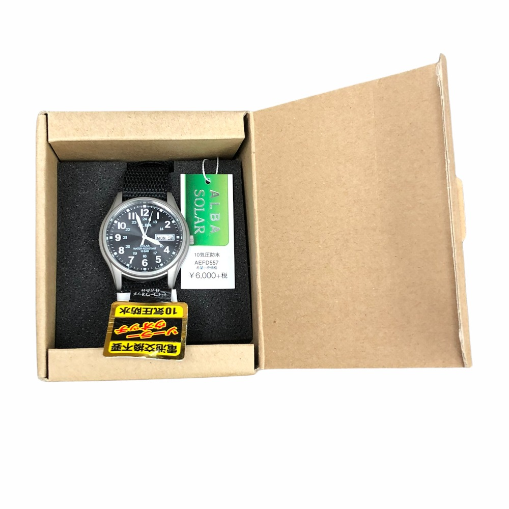 Product photo for Alba Solar Men's Watch