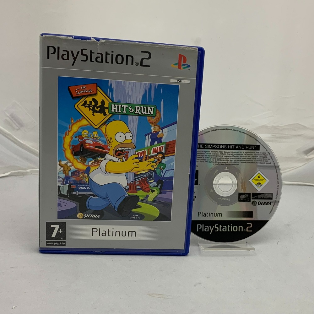 Product photo for Simpsons Hit & Run
