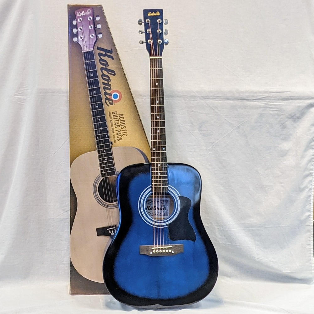 Product photo for Kolonie Acoustic Guitar - New Boxed