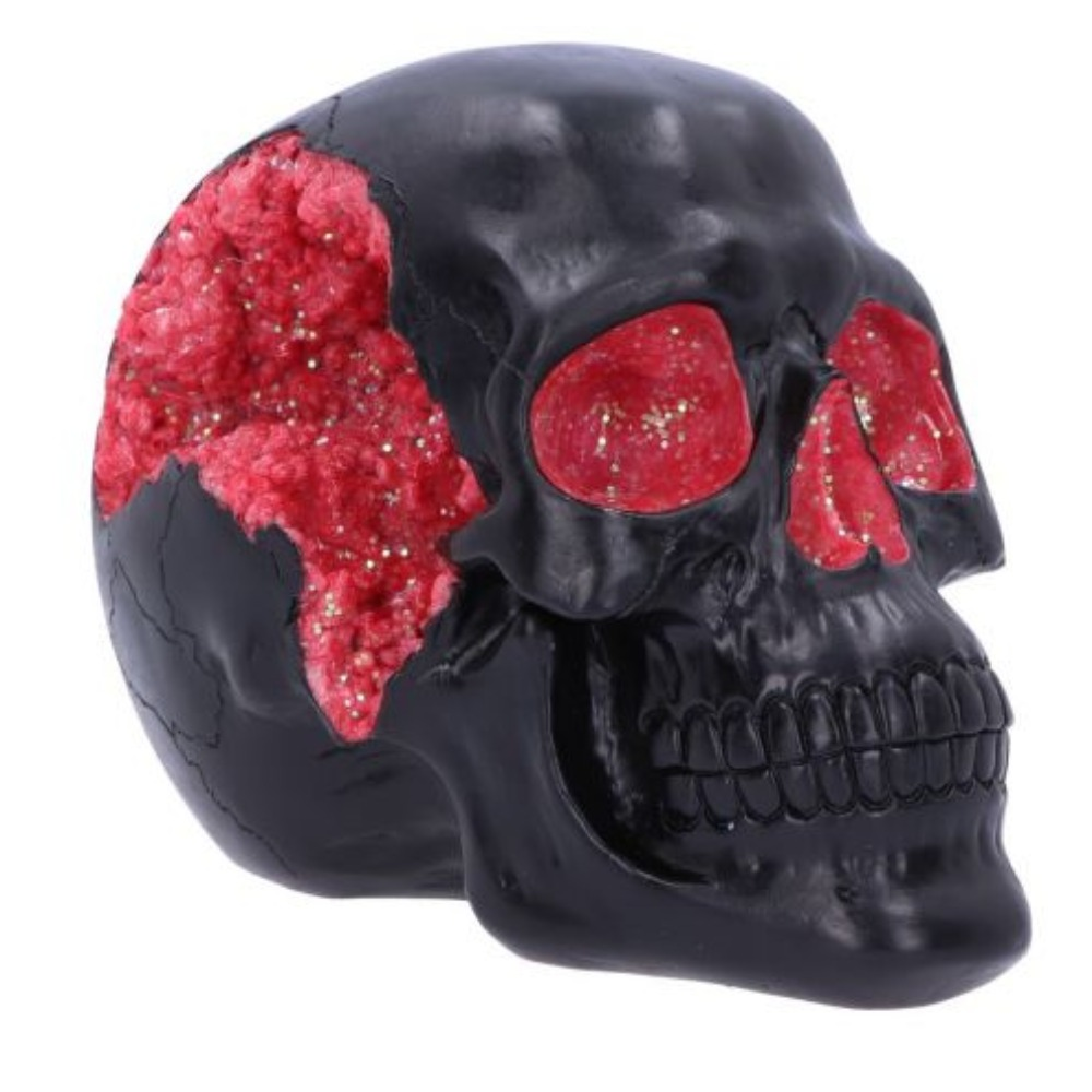 Product photo for Geode Skull Red