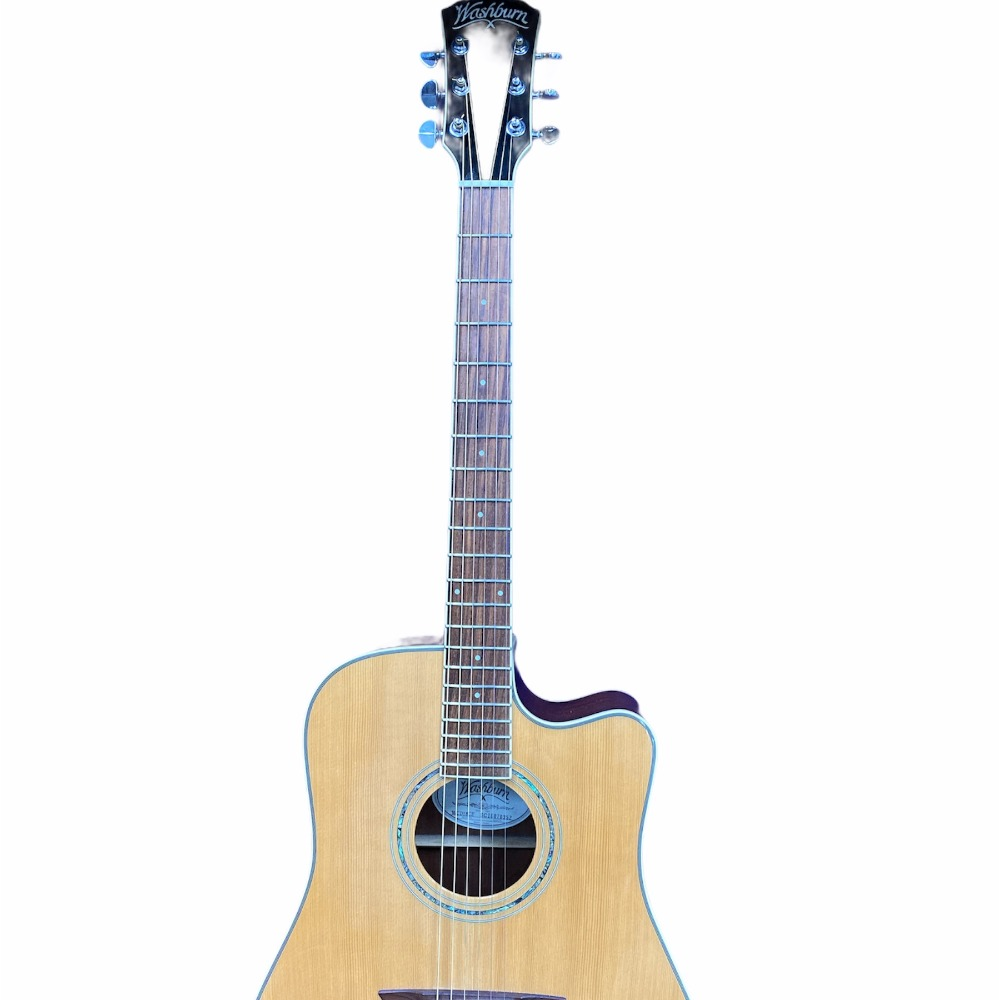 Product photo for Washburn Comfort Series WCD18CE Acoustic-Electric Guitar