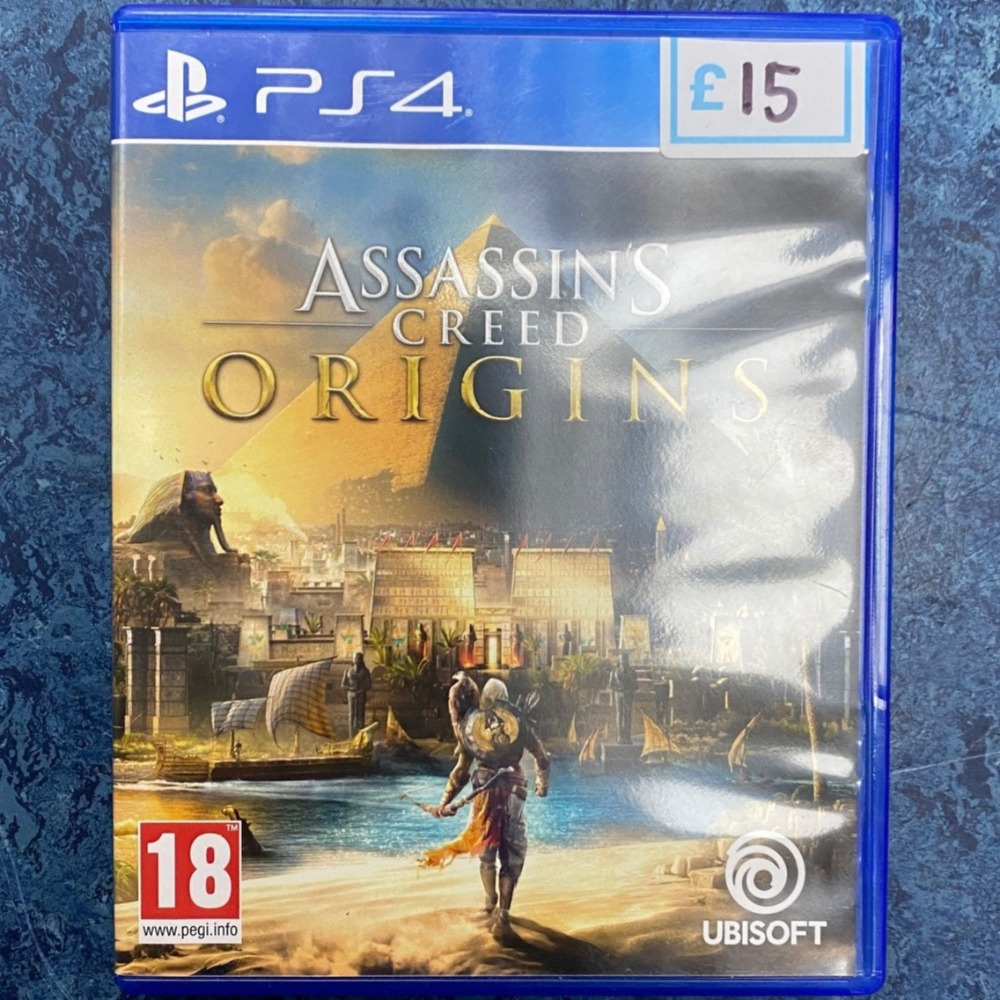 Product photo for Assassin's Creed Origins PS4 Game