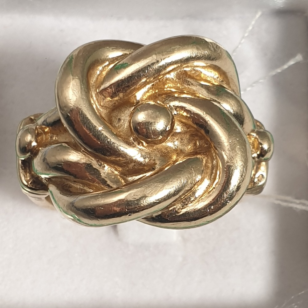 Product photo for 9ct Knot-like Ring W