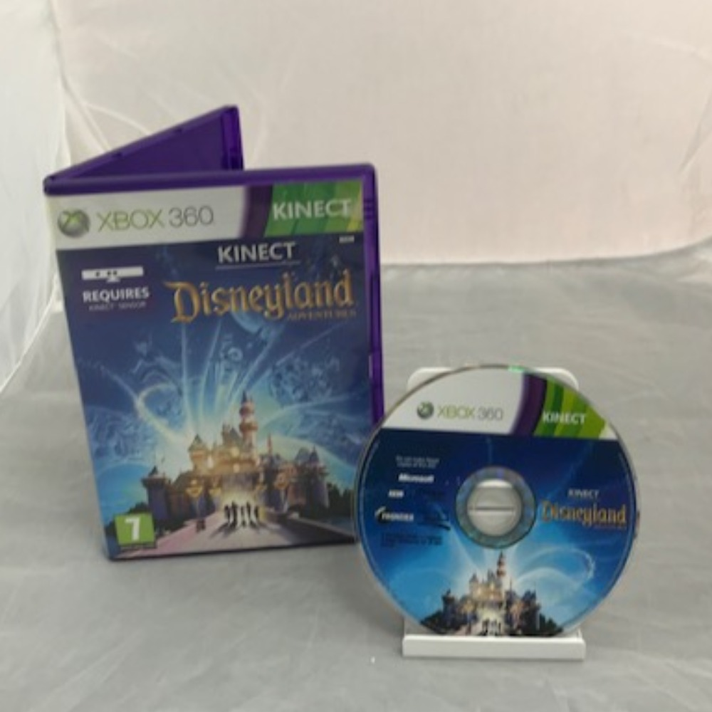 Product photo for  Xbox 360 Game Kinect Disneyland Adventures