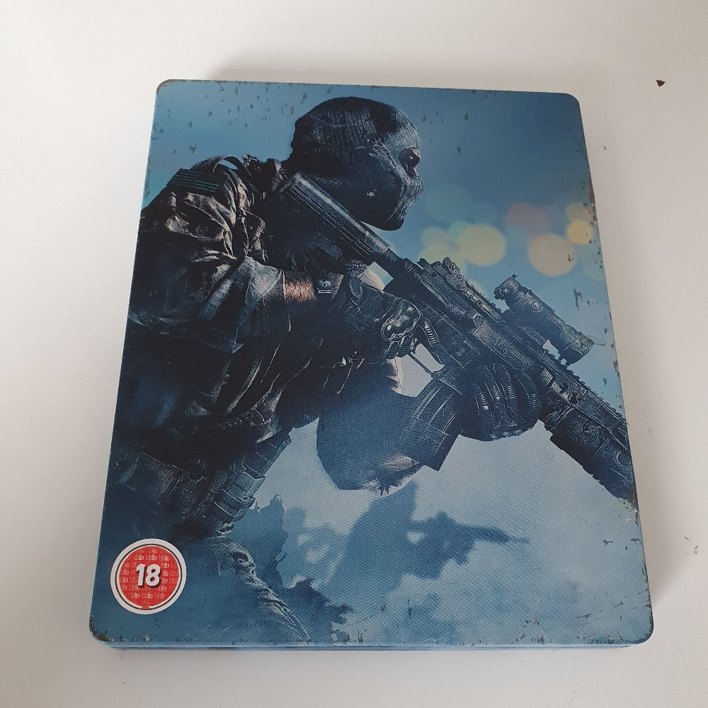 Product photo for Playstation 3  call of duty ghost steelbook playstation 3